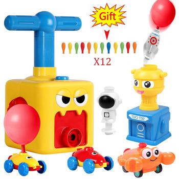 Uroczy balon zasilany samochód balon Launcher eksperyment naukowy zabawka edukacyjna i zabawna wczesne dzieciństwo edukacja zabawka dla dzieci tanie i dobre opinie Z tworzywa sztucznego CN (pochodzenie) 2-4 lat Diecast Certyfikat 2020152202030249 Balloon Car 1 18 Need parents to accompany