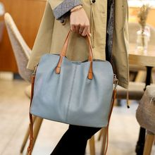 Genuine Leather Women Handbag Fashion Ladies Shoulder Bag  Crossbody Bags Solid Color Top-handle Bag F42A caerlif top handle bags stitching flowers leather handbag shoulder bag shoulder crossbody bag bags female lady handbag clutch