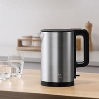 VIOMI-hervidor de agua eléctrico de acero inoxidable para cocina, tetera eléctrica inteligente con silbato, Samovar, 5-6min de ebullición rápida, 1.5L