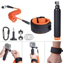 Fantaseal Duiksport Drijvende Polsband + Hand Grip Houder voor GoPro Hero 8 7 6 5 4 Zwart Sessie SJCAM Eken Action Cam