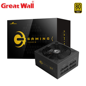 Great Wall Power Supply 12V for PC 750W PSU 80 Plus Gold Quiet 140mm Fan Computer Power Source ATX Computer Power Supplies цена 2017