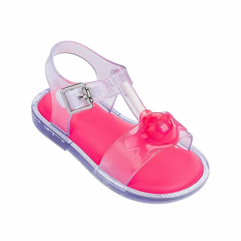 תינוק בנות נעלי ילדים סנדלי 2019 חדש Lollipop סוכריות סנדלי ילדים החלקה חוף נעלי ילדים שטוח סנדלי 1-8Y
