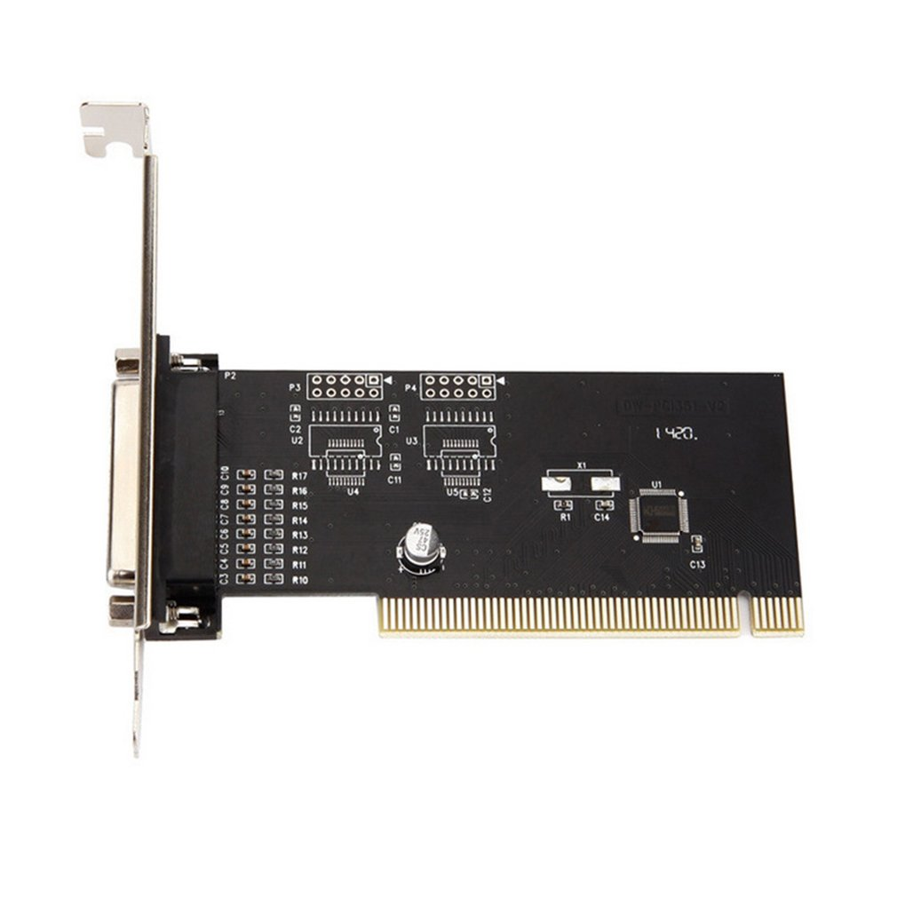 PCI Lpt 1Port I/O 25pin Parallel LPT Card PCI Expansion Card Adapter PCI To Parallel 25pin DB25 Printer Port Controller Card