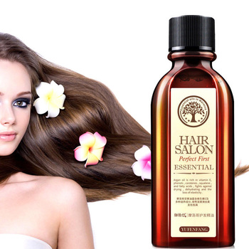 цена на 60ML Hair Care Moroccan Pure Argan Oil Hair Essential Oil for Dry Hair Types Multi-functional Hair Care Products for Woman