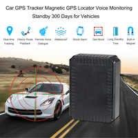 Perseguidor do GPS do carro Localizador GPS Magnético Monitoração da Voz de Espera 300 Dias para Veículos 9000mAh Da Bateria