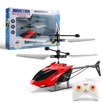 2CH Remote Control Sensor Control Hovering Helicopter 2