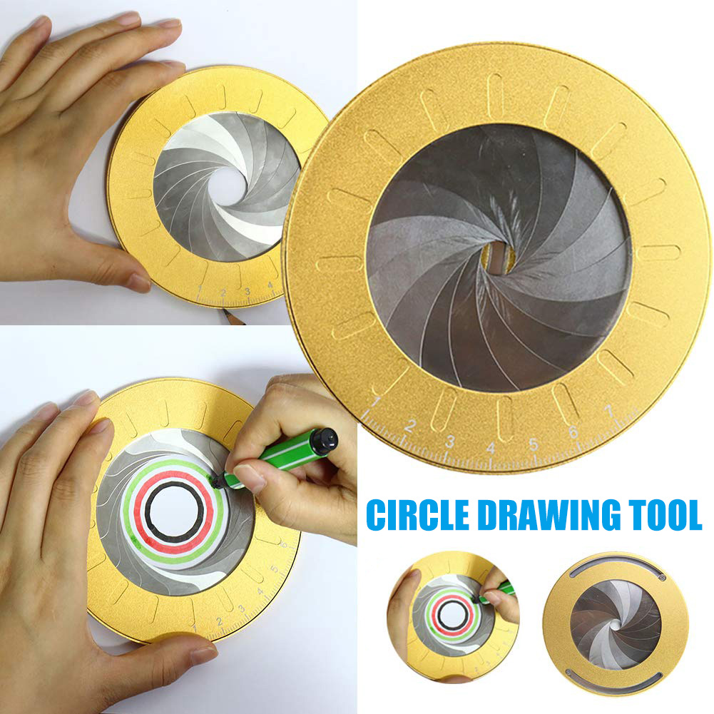 Flexible Circle Drawing Tool Rotary Adjustable Small Durable For Designer Woodworking GQ999
