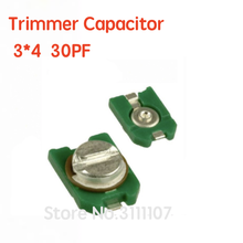 10PCS/LOT 3*4  30PF TZC3Z300A110 30PF 30P 30pf Trimmer Capacitor Adjustable Capacitor SMD Capacitance
