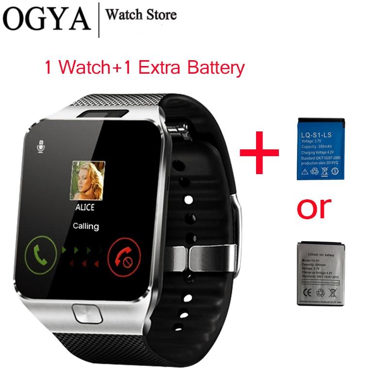 Dz09 tela de toque smartwatch música chamando whatsapp câmera bluetooth relógio inteligente me relógio de pulso relógio inteligente feminino para android