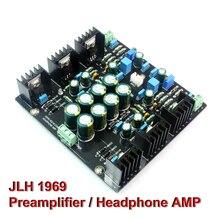 JLH 1969 클래스 A 파워 앰프 오디오 보드 듀얼 채널 프리 앰프 헤드폰 앰프 싱글 엔드 프리 앰프