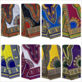 Африканская вощеная ткань принтом Анкары Дашики, ткань из хлопка Angelina Design 6 ярдов для украшения дома DF01