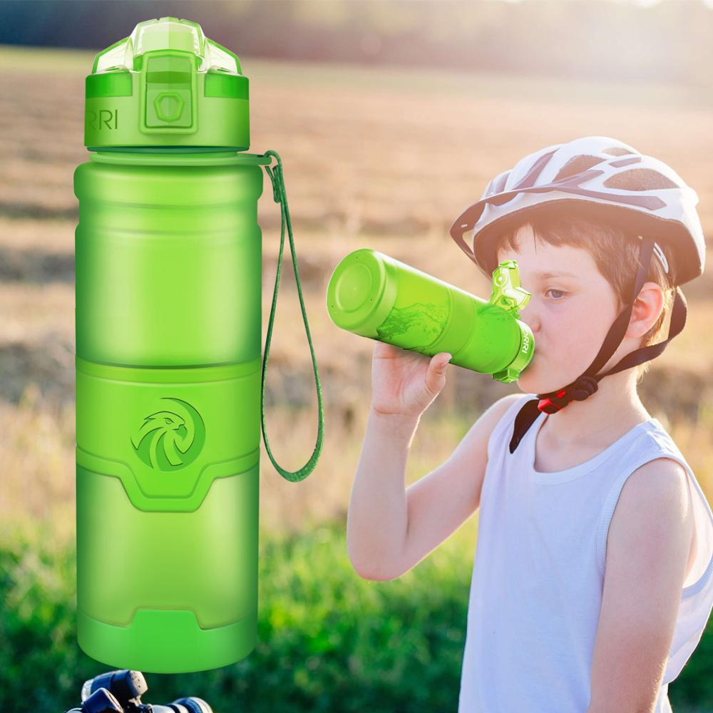 EASY GRIP WATER BOTTLES Hiking Camping Gym Sport Outdoor Exercise 700ml Drink
