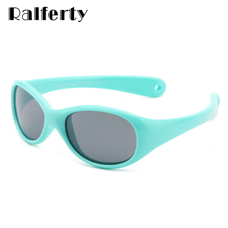 Ralferty (0-2 Year) Baby Polarized Sunglasses Kids Flexible Safety Glasses Girl Boy Outdoor Goggles Shades Infant Oculos M300