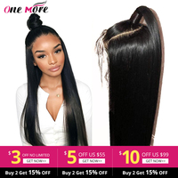 Lace Front Human Hair Wigs Straight Pre Plucked Hairline Baby Hair 8 26 Inch 13x4 150% Brazilian Remy Human Hair Lace Front Wigs