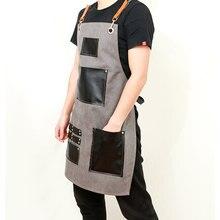Novo restaurante de cocina trabajo delantal de mezclilla antifouling vaqueiro chef cocina delantal