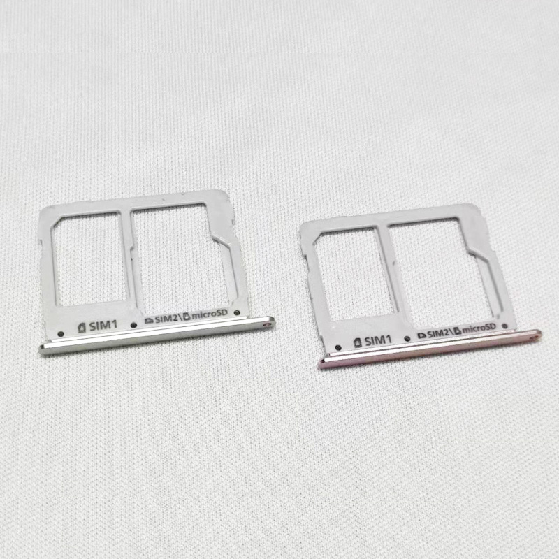 <font><b>Sim</b></font> <font><b>Card</b></font> Tray Holder For <font><b>Samsung</b></font> Galaxy A3 A310 A5 A510 A7 A710 2016 Dual Micro SD <font><b>Card</b></font> Socket Slot <font><b>Adapter</b></font> image