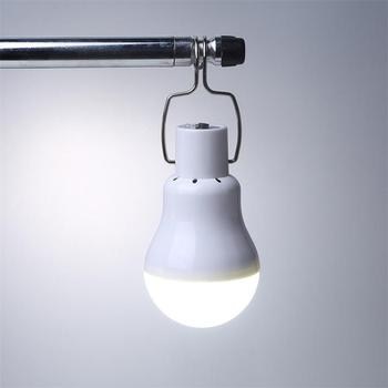 luz Solar panel 12 LED bulb LED Solar Lamp Solar Power Light Outdoor Solar Lamp Spotlight Garden  Portable Light 4