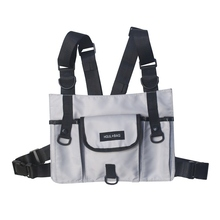 Men Women Multi-pockets Chest Rig Bag Phone wallet Pager Storage Pouch Cross Shoulder Bags Radio Harness Backpack