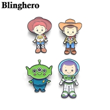 CA368 Cartoon Anime Zinc Alloy Pins Badge Shirt Bag Clothes Hat Backpack Brooches Badges Medals Decorations 1PCS