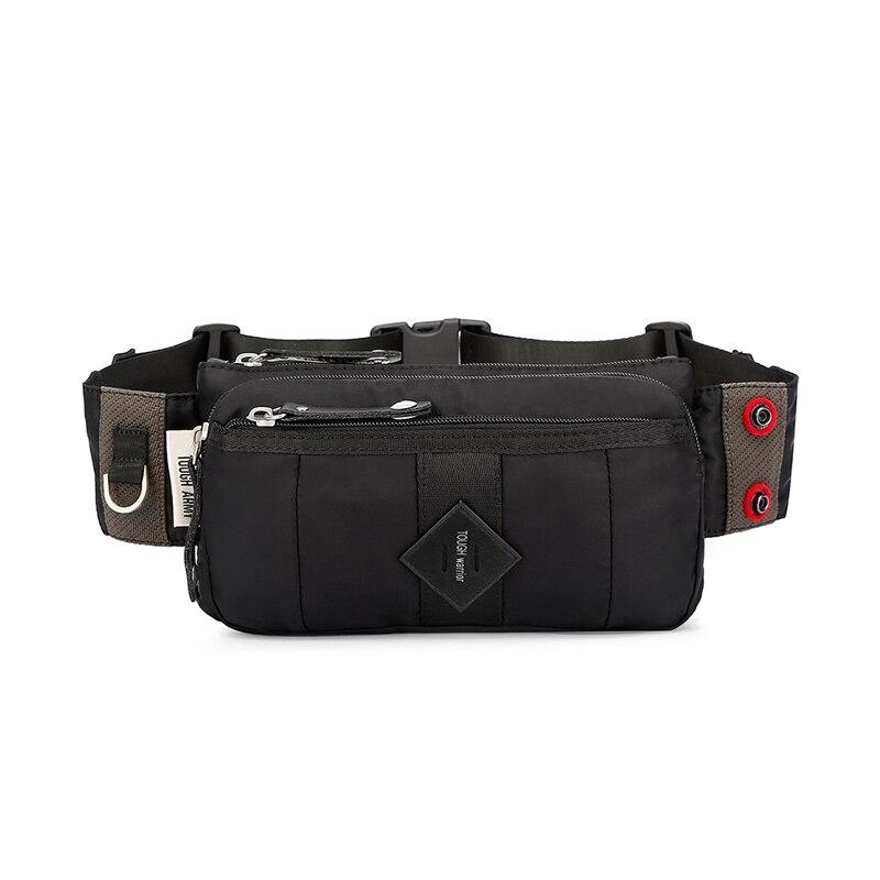 Oxford Waterproof Waist Belt For Men, Fashionable Chest Bag, Outdoor Sports, Belt Bag