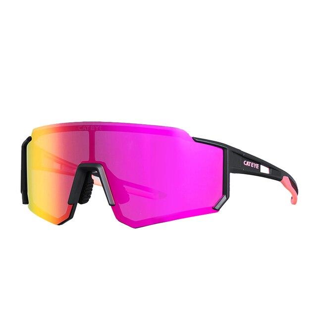 Cateye ciclismo óculos polarizados photochromic bicicleta esporte polaroid óculos de sol estrada mtb caminhadas com lente míope 2020novo 6