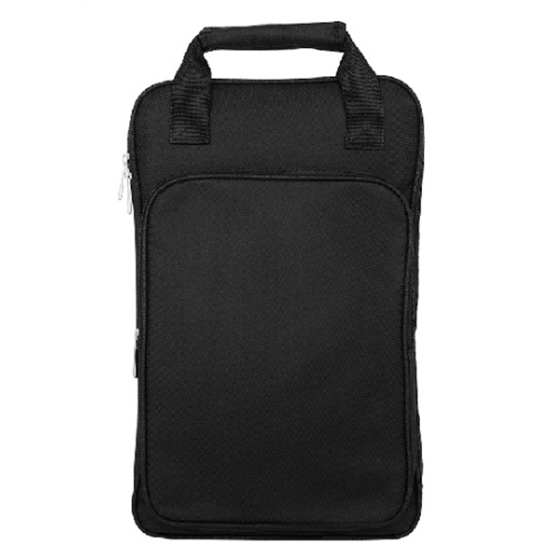Drum Stick Storage Bag Cotton Thicken Portable Musical Percussion Sticks Storage Backpack Instruments Accessories Black