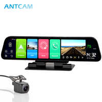 "Antcam 12"" IPS 4G Car Dashboard Camera GPS Android 8.1 Navigation ADAS 2G RAM 32G ROM FHD 1080P Dual Lens Car Video Recorder DVR"