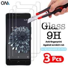 2.5D Tempered Glass For BQ AQUARIS X x2 x3 x5 Pro x5 Plus High Quality Protective Film 9H Screen Protector for AQUARIS X5 S M5.5