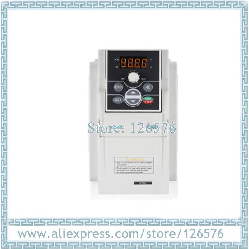 Inversor novo original da frequência do inversor E550-2S0015 1.5kw ac220v 0-1000 hz de sunfar vfd