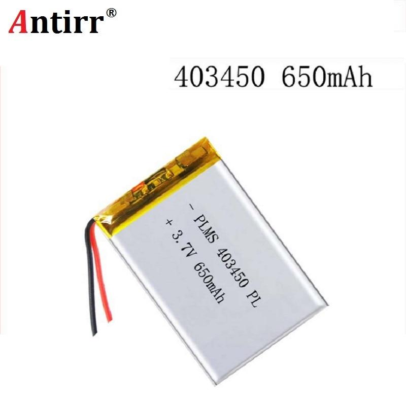 3.7V Lithium Polymer Battery 403450 043450 Navigator PS 800mAH Digital Products