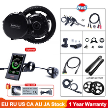 Electric Engine Conversion-Kit Crank Ebike Mid-Drive Bicycles BBS02 48v 750w BAFANG