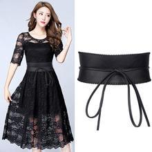 1 шт вечернее платье с бантом и широкие ремни для женщин поясом