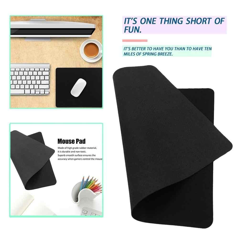 22*18cm אוניברסלי משטח עכבר מחצלת מדויק מיצוב אנטי להחליק גומי עכברים Mat למחשב נייד Tablet מחשב אופטי עכבר מחצלת