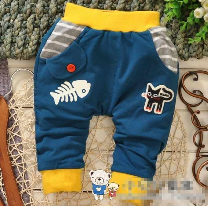(1 sztuk/partia) 100% bawełna 2014 nowe spodnie jeansowe dla dzieci
