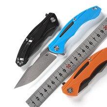 CH Флиппер дизайн 3519 складной нож D2 лезвие шарикоподшипники G10 Ручка наружные ножи для охоты и выживания EDC инструмент