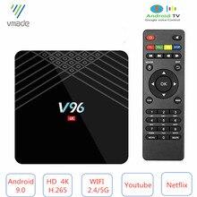 Оригинальная мини ТВ приставка Allwinner H6 четырехъядерный процессор Smart 4K UHD 2 ГБ 16 ГБ Android 9,0 OS Восьмиядерный WIFI IPTV медиаплеер телеприставка