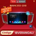(Codice:618FAST6)Junsun V1 Android 10 AI Voice Control 4G Auto Radio Multimedia Navigation GPS Für Toyota RAV4 2012 2013 2014-2018 2 Din keine DVD