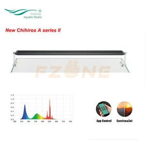 Image 1 - Yeni Chihiros A serisi II akvaryum LED aydınlatma ışık lamba bitki büyümek ışık ile bluetooth APP kontrol