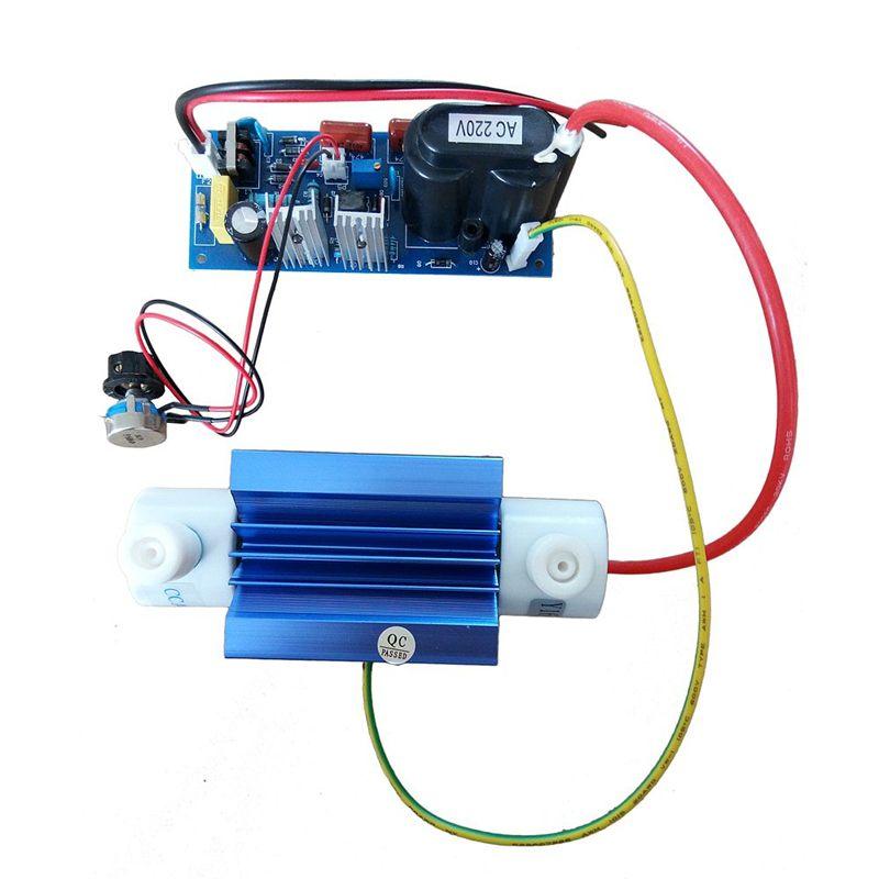110V/220V 5grams Silica Adjustable Quartz Tube Ozone Generator Module Ozone Output Open Power Pack with Accessory