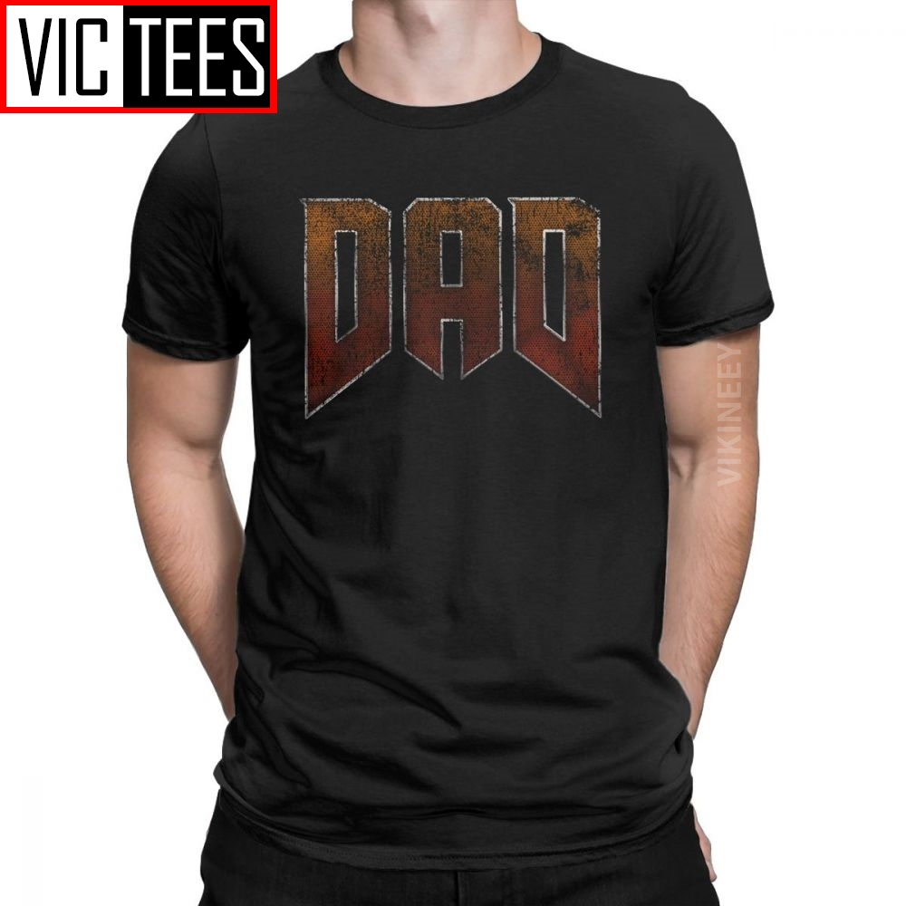 Men DAD Doom <font><b>Tshirt</b></font> Retro Game Conan Barbarian Thulsa Snake <font><b>Cult</b></font> Pure Cotton Camisas Hombre <font><b>Tshirt</b></font> image