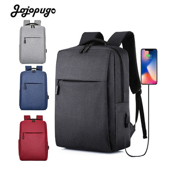 Jojopugo 2020 Newest Korean Fashion Men's Backpack Business Travel Computer Unisex Backpack Women's Backpack Top Quality rockcow handcrafted vintage style top grain leather backpack travel backpack unisex backpack 8904