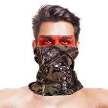 Камуфляжные маски для рыбалки с высоким прыжком, головной платок из полиэстера с УФ-защитой, армейские тактические военные уличные рыболовные спортивные головные уборы