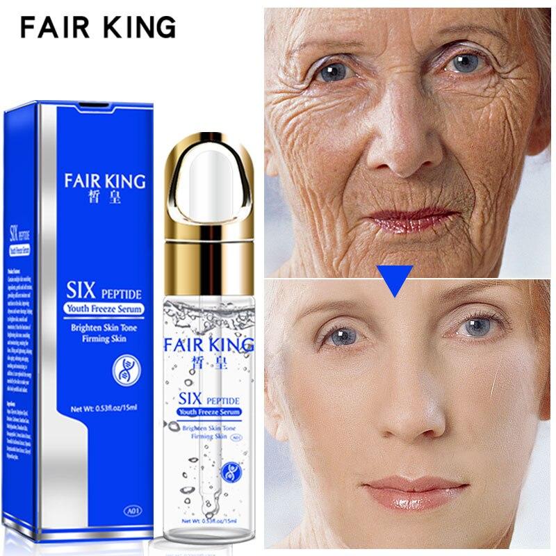 Crema Facial de colágeno de péptidos comunes crema blanqueadora de ácido hialurónico cuidado Facial cuidado de la piel antiedad crema hidratante Retinol Facial|Suero|   - AliExpress