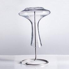 Значение металлического Слива перевернутого каркаса вина Графин специальная стойка Слив Стойки сушки рама кувшин держатель чашки