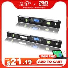 Elektronische Digitale Level Inclinometer Gradenboog Hoekzoeker 40 Cm/60 Cm Lcd scherm Magneten Nivel Digitale Niveau Door Prostormer