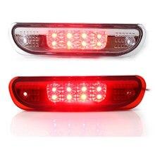Alta posición ahumado Luz de Freno LED para 3rd de cola luces lámparas para Jeep 1999-2004 Grand Cherokee 55155140AB