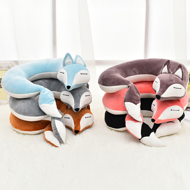 Travel Neck Pillow (Cute Fox)