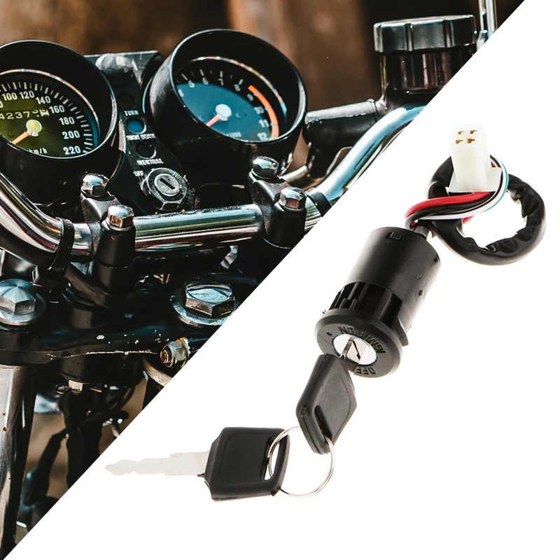 Sepeda Motor Lgnition Switch Kunci Universal untuk Yamaha 50/70/110/125/150/250cc Honda Suzuki KTM Quad ATV Dll Aksesoris Motor