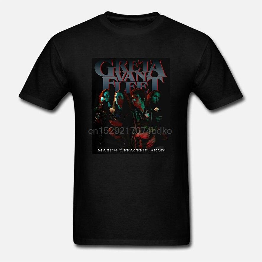 New Greta Van Fleet March of the Peaceful Army Tour 2019 T-Shirt S-5XL