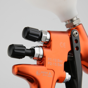 Image 3 - Pistora pulveirizadora high end 1.3mm, revestimento transparente, verniz, pintura por ar, ajuste 30cm, largura padrão